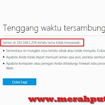 Cara Jitu Atasi Tidak Bisa Akses 192.168.1.254 / 192.168.1.1 dengan Mudah