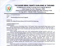 Lowongan Kerja Pengasuh Yayasan Amal Bakti Sudjono & Taruno 2016