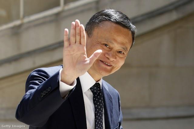 Távozik az Alibaba éléről Jack Ma