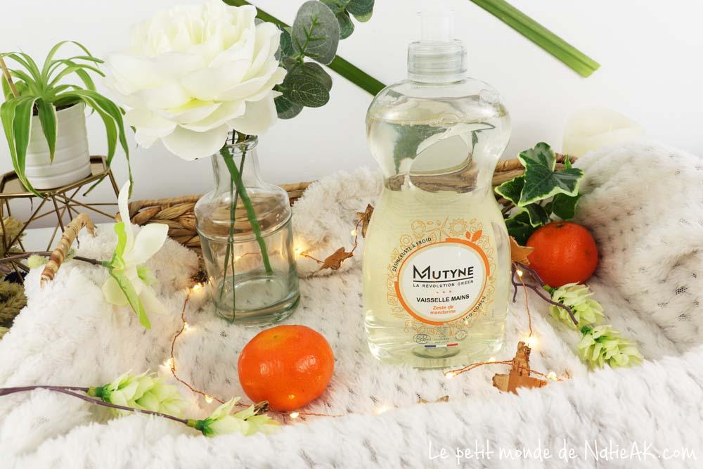 liquide vaisselle Zeste de mandarine Mutyne