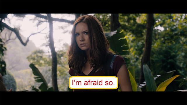 Arti I'm Afraid So