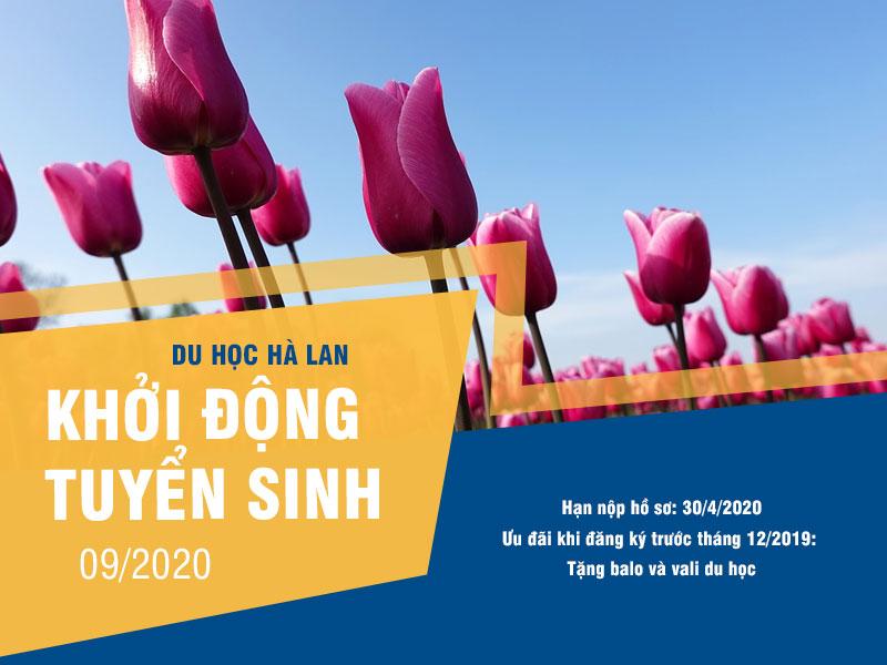 Du học Hà Lan: Khóa tháng 9/2020 đã chính thức khởi động tuyển sinh