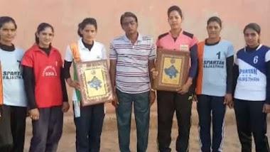 Volleyball Me Chomu Purohitan Ki National Recognition