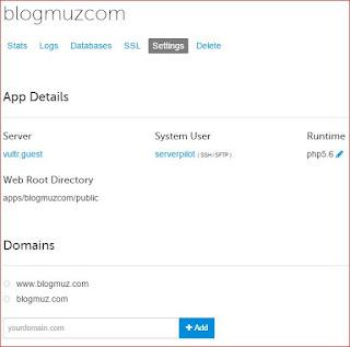 Cara Instal WordPress Pada Vps [Vultr + Digital Ocean ] Menggunakan ServerPilot