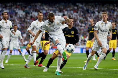 """زي النهاردة.. شاهد رونالدو يضرب أتلتيكو مدريد بثلاثية """"فيديو"""""""