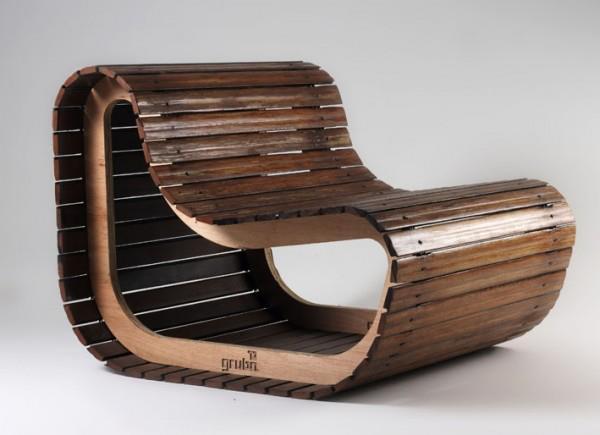 Mil ideas para la casa y el jardin silla de madera - Sillas madera jardin ...