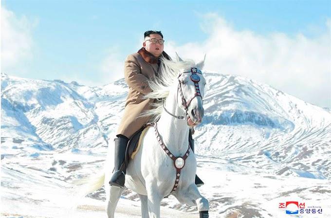 Kim Jong Un se hace unas fotos a caballo y twitter vuelve a hacer su magia.