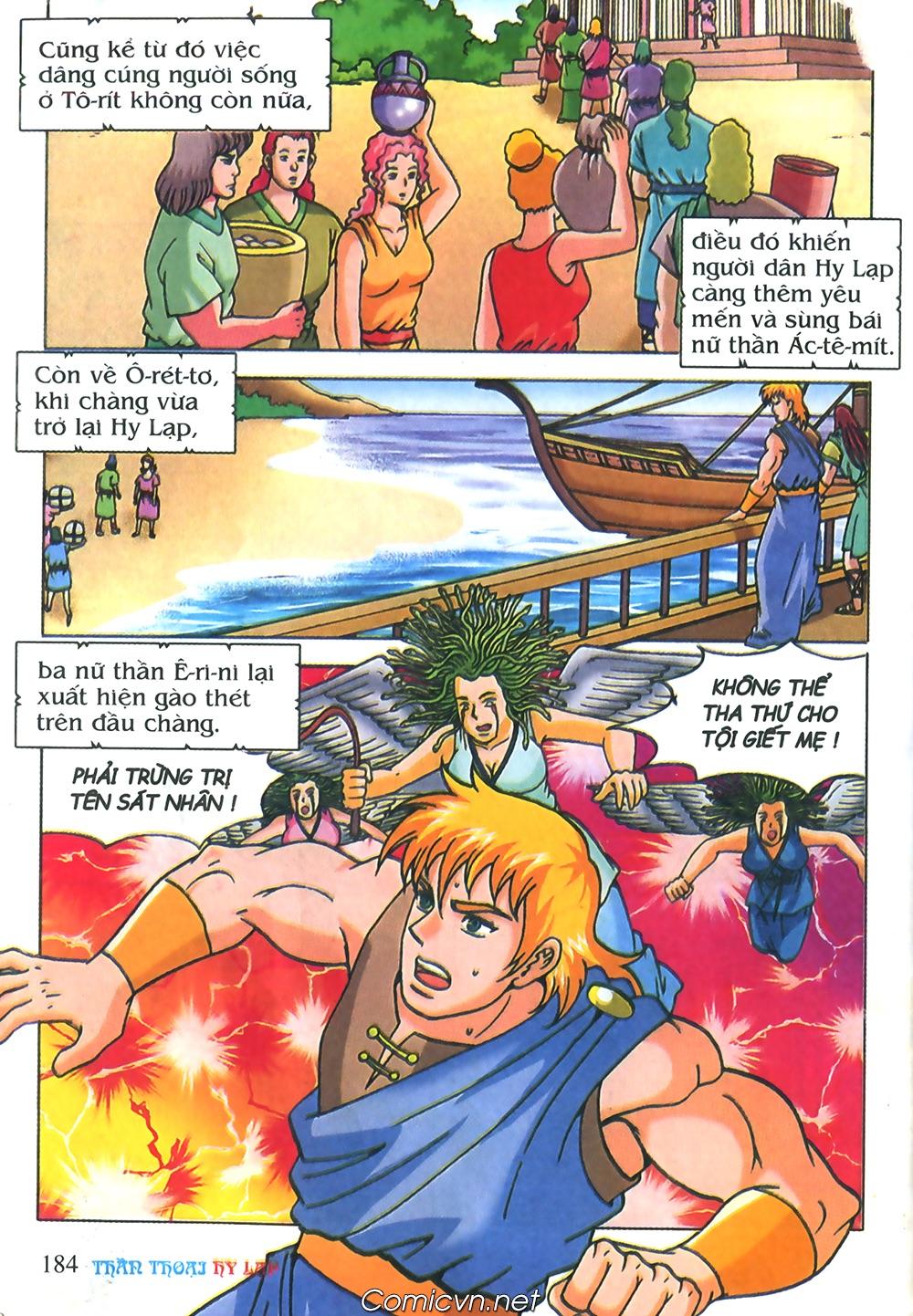 Thần Thoại Hy Lạp Màu - Chapter 71: Nàng Ê lếch tơ 2 - Pic 35