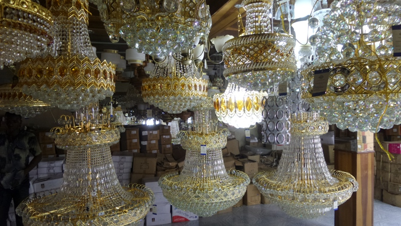 A House Of Chandeliers In Nigeria