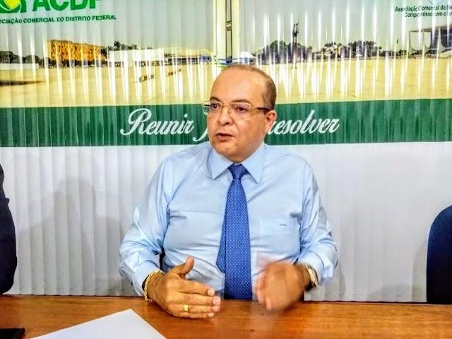 28ª edição da Sabatina ABBP entrevista Ibaneis Rocha, ex-presidente da OAB/DF