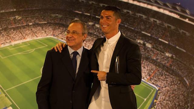 Florentino Pérez dévoile les coulisses du départ de Cristiano Ronaldo