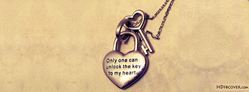 Only one can unlock the key to my heart