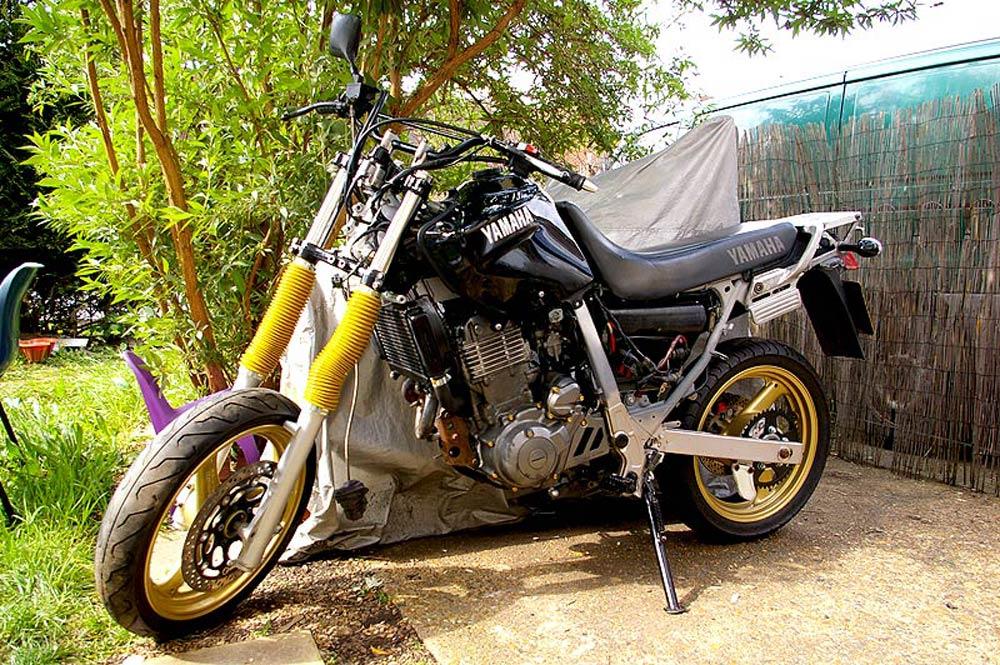 1997 Yamaha Xtz660 Tenere Xt600 Modification Supermoto