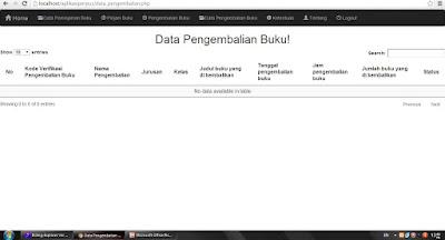 Download Aplikasi Perpustakaan Berbasis Web Sederhana