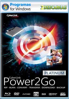 Descargar CyberLink Power2Go Platinum 13 Full Español mega y google drive /