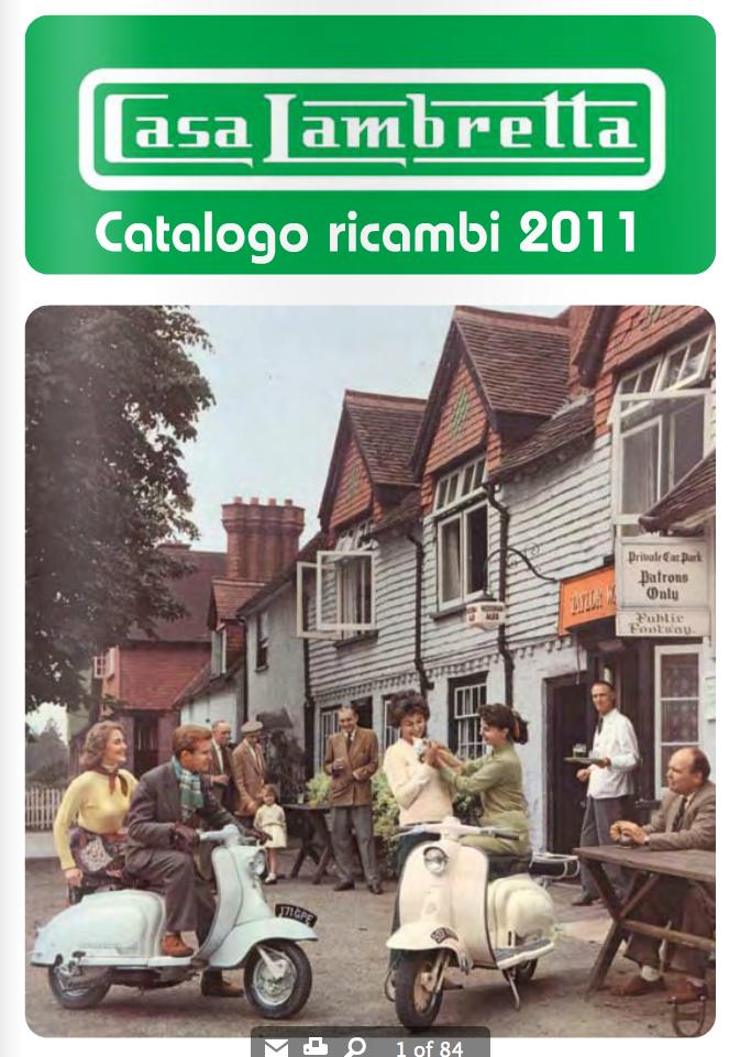 Club lambretta uruguay catalogo ricambi lambretta casa for Catalogo casa