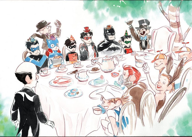 Review del comic Cuentos de Batman: Érase una vez de Derek Fridolfs y Dustin Nguyen - Editorial Hidra