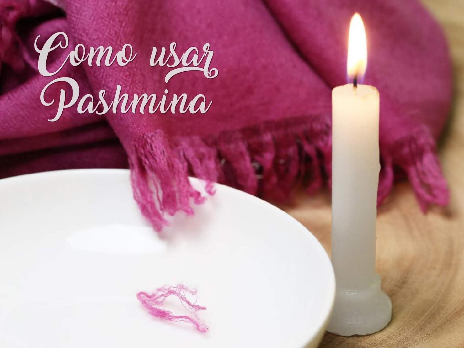 Como escolher e usar um lenço de Pashmina?