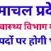 HP Health Department Recruitment for various posts