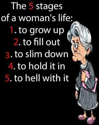 5 stages to a womens life
