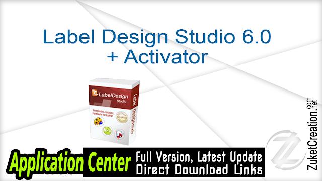 Label Design Studio 6.0 + Activator