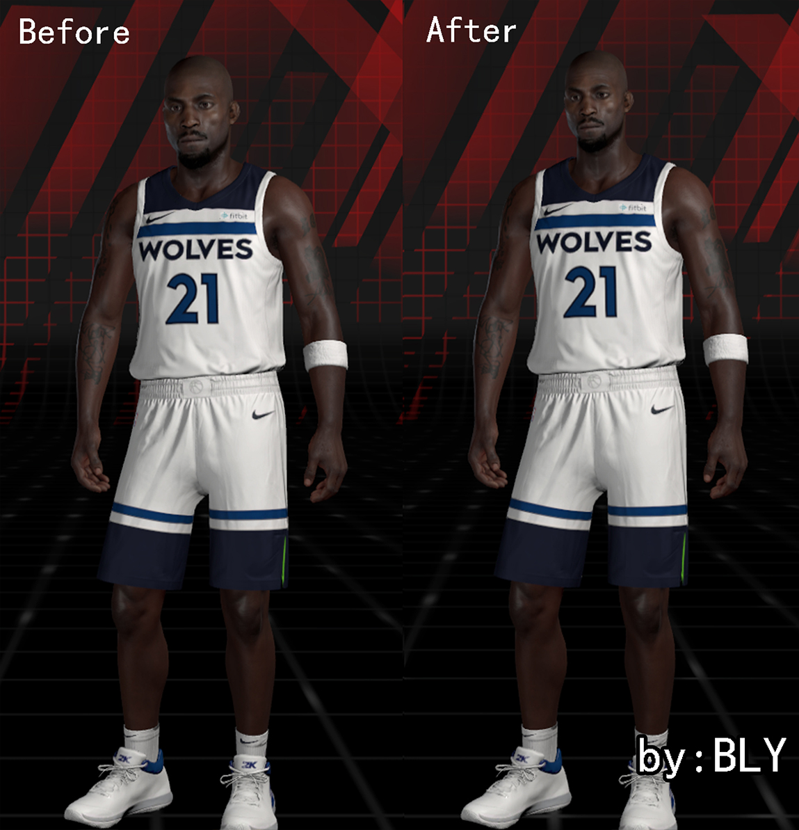 DNA Of Basketball | DNAOBB: NBA 2K18 Kobe Bryant and Kevin Garnett Cyberfaces by BLY
