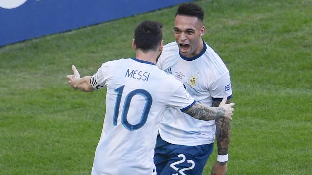 تشكيل الأرجنتين ضد البرازيل عبر سوفت سلاش