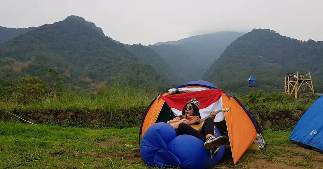 Area Camping Bumi Pelangi Jalaksana Kuningan