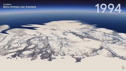 Google Earth: «Γυρίστε τον χρόνο» 37 χρόνια πίσω - Το Timelapse της κλιματικής αλλαγής