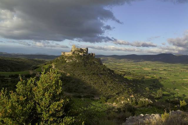 Castillo cátaro de Aguilar en Francia