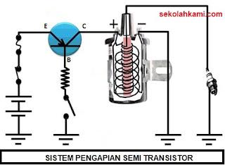 sistem pengapian semi transistor