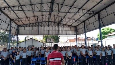 ARAGUATINS :Colégio da Polícia Militar de Araguatins realizar projetos em parceria com IFTO Campus Araguatins na semana do meio ambiente