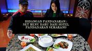 HOTEL PANDANARAN MERILIS SET MENU HIDANGAN PANDANARAN
