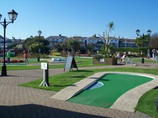 Bognor Regis Mini Golf course