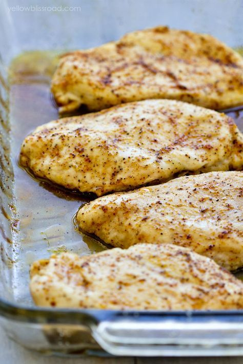 BAKED CHICKEN BREASTS #recipes #dinnerrecipes #dinnerideas #newfoodideas #newfoodideasfordinner #food #foodporn #healthy #yummy #instafood #foodie #delicious #dinner #breakfast #dessert #yum #lunch #vegan #cake #eatclean #homemade #diet #healthyfood #cleaneating #foodstagram