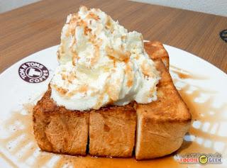 Tom N Toms Coffee Manila, apple cinnamon bread
