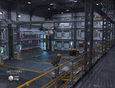 Sci-fi Hanger A