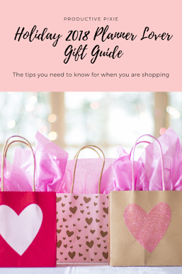 Holiday 2018 Planner Lover Gift Guide