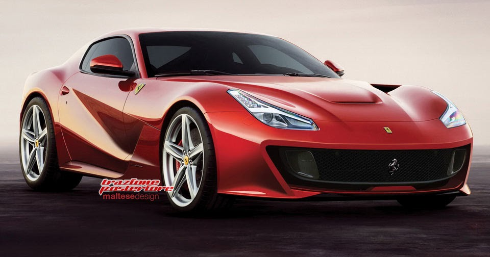 Upcoming Ferrari F12M Might Borrow Cues From The GTC4 Lusso