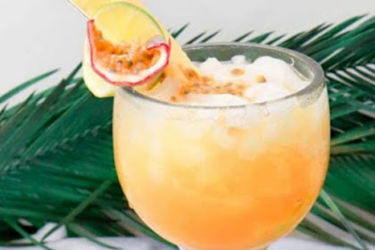Passion Fruit Rum Punch