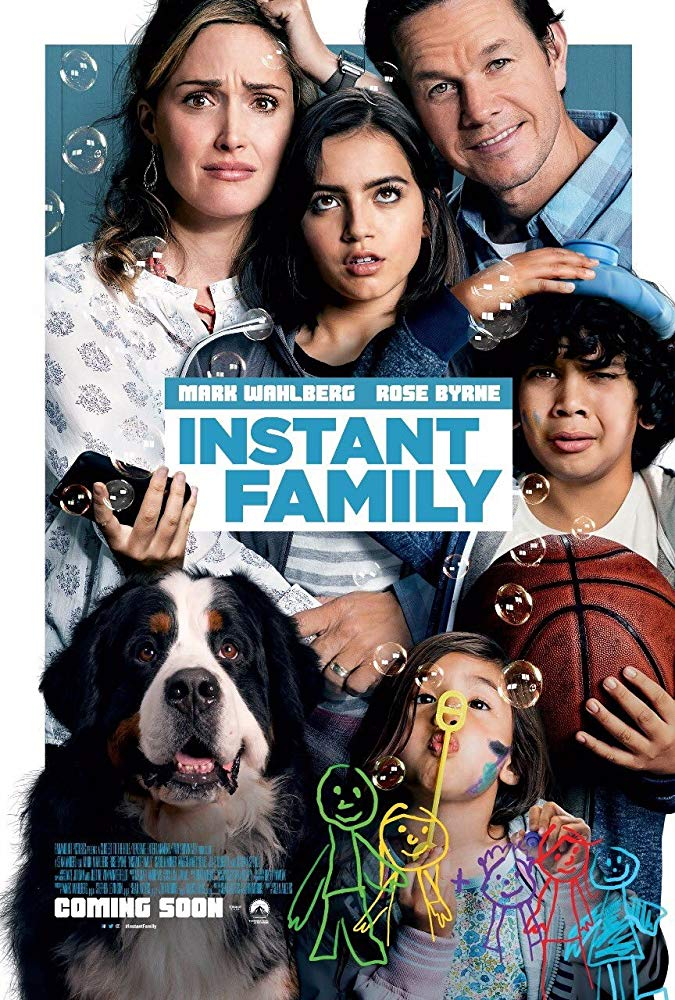 Movie Review by Rawlins, Instant Family, Comedy, Drama, Rawlins GLAM, Mark Wahlberg, Rose Bryne