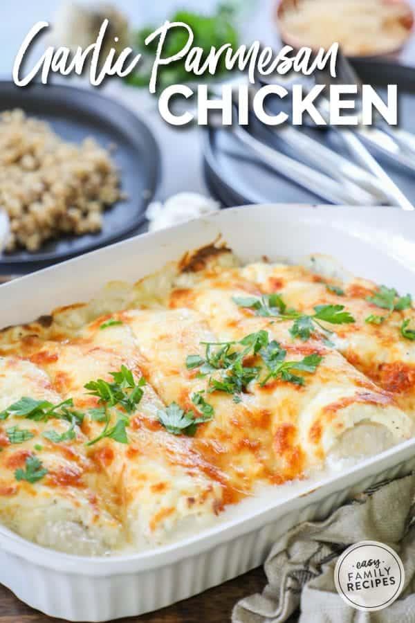 Low Carb Keto Garlic Parmesan Chicken Recipes