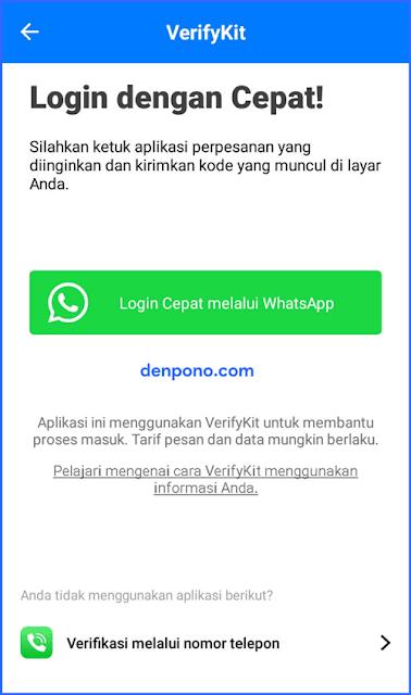 Verifikasi GetContact