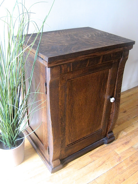 The Project Lady Franklin Treadle Sewing Machine Cabinet