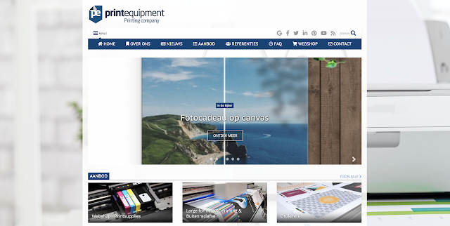 Print Equipment, UP-TO-DATE Webdesign, Smart-SIte