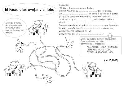 JUEGO: El Pastor, las ovejas y el lobo