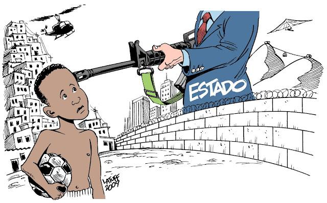 A criminalidade marginalizada é a maior expressão da luta de classes.