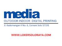 Lowongan Kerja Solo Tenaga Finishing di Media Digital Printing
