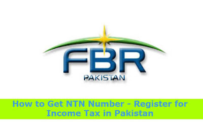 How to Get NTN Number - Register for Income Tax in Pakistan