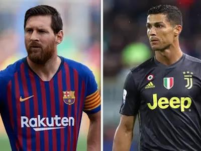 Champions League: Cristiano Ronaldo equals Messi's record
